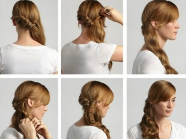 Peinados rapidos y faciles para cuando no tienes tiempo