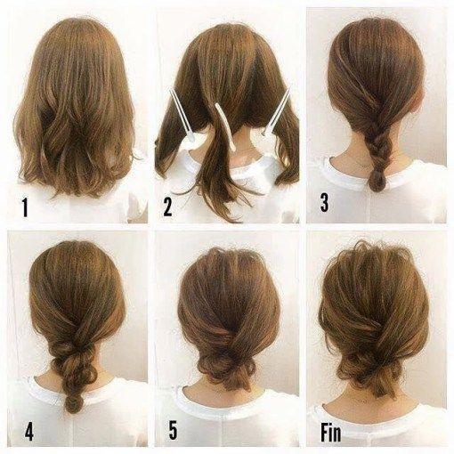 peinado-rapido-cabello-corto