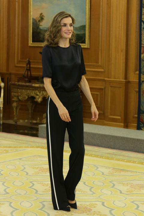 reina letizia - La ropa deportiva invade las calles la tendencia del momento
