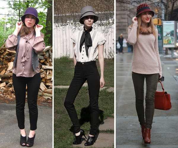 sombrero cloche - Como combinar diferentes tipos de sombreros para mujer