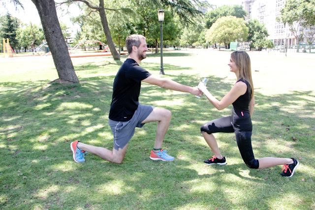 ejercicio estocada - Ejercicios en pareja que puedes hacer con tu novio