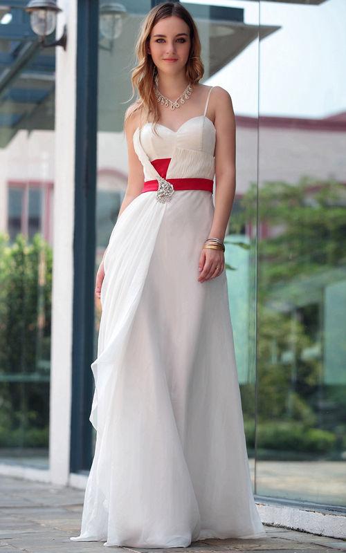 dama de honor vestido blanco - Mira Cuales Son Los Vestidos De Dama De Honor De Moda
