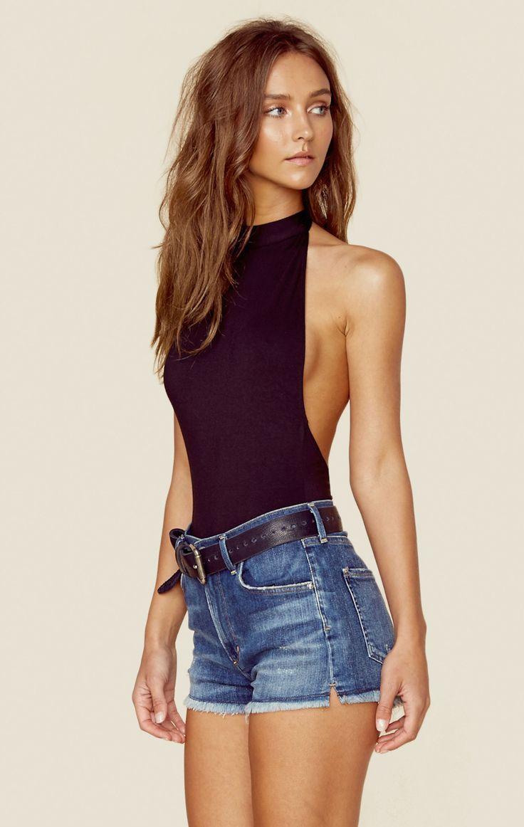 bodysuit con short - Outfits Con Bodysuit Que Te harán Ver Fabulosa