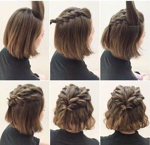 LOOK CASUAL - 10 Sencillos Peinados Para Cabello Corto