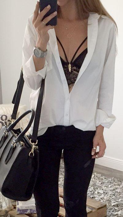 camisa mujer - 12 Tendencias De Moda Que Les Encanta A Los Hombres