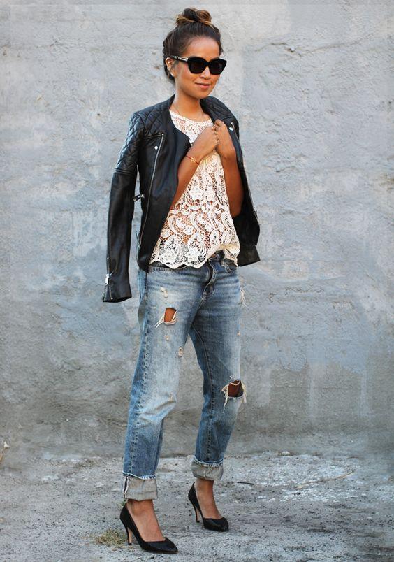 chaqueta de piel - 15 Cosas que te harán tener un look mas sexy
