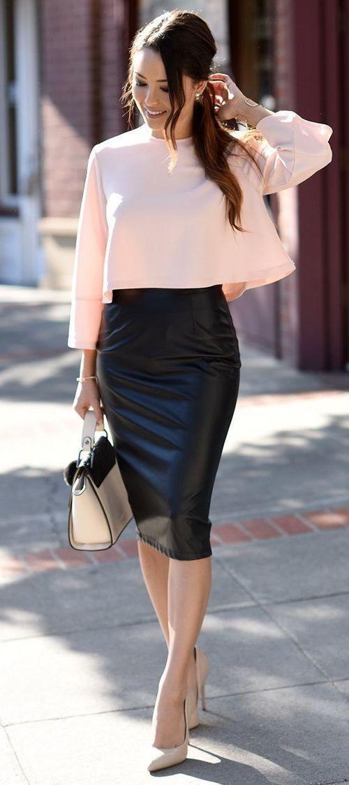 falda lapiz - 15 Cosas que te harán tener un look mas sexy