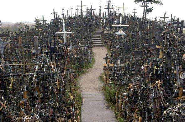 monte de las cruces - 10 sitios turísticos que seguro te darán escalofríos