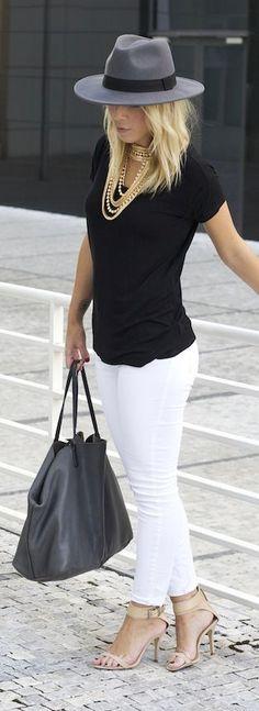 pantalon blanco outfits - 12 Tendencias De Moda Que Les Encanta A Los Hombres