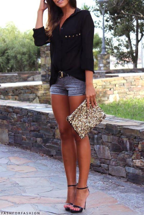 pantalon corto mezclilla - 15 Cosas que te harán tener un look mas sexy