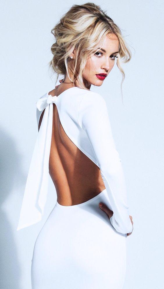 vestidos escote espalda - 12 Tendencias De Moda Que Les Encanta A Los Hombres
