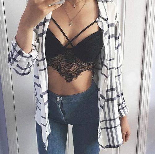 15 Outfits Para Mostrar Tu Bralette A Todos