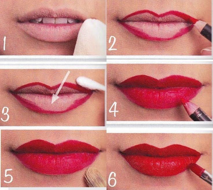 como pintar tus labios correctamente - Consejos Para Pintar Tus Labios De Rojo Y Estén Perfectos