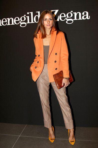 look naranja elegante - Increíbles Outfits Naranja El Color Del Verano