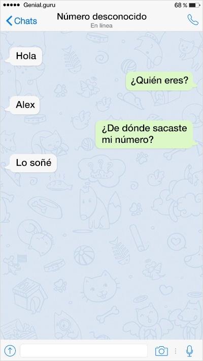 mensajes de texto 2 - Mensajes de Texto: Intentando Ligar