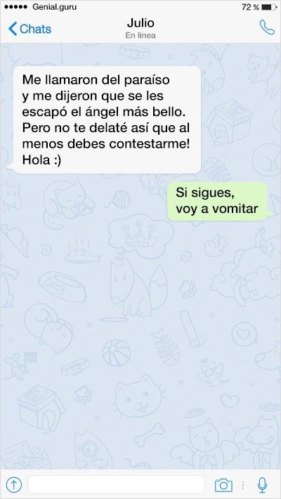 mensajes de texto 6 - Mensajes de Texto: Intentando Ligar