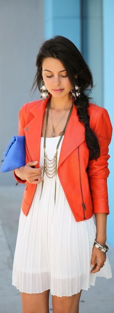 naranja - Increíbles Outfits Naranja El Color Del Verano