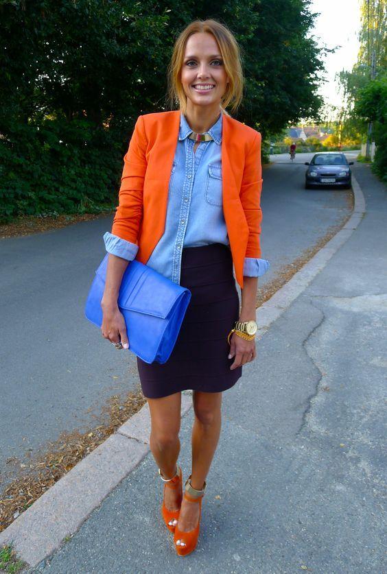 outfitnaranja - Increíbles Outfits Naranja El Color Del Verano