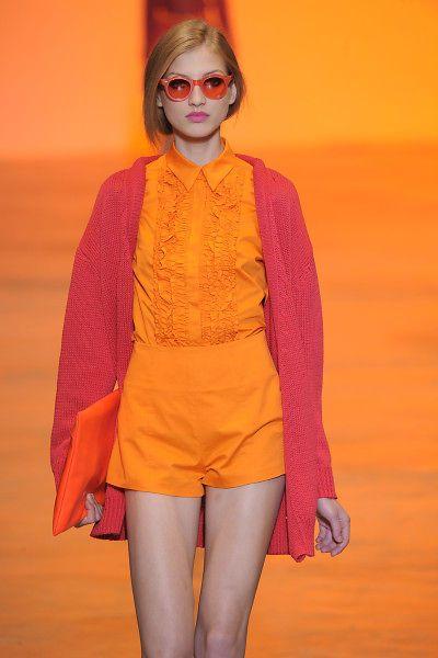rosa y naranja - Increíbles Outfits Naranja El Color Del Verano