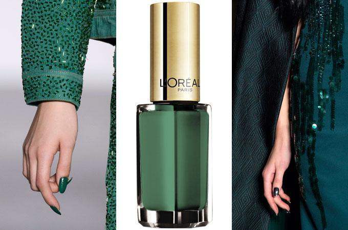 verde kale - Tendencias De Colores Para Tus Uñas Este Verano