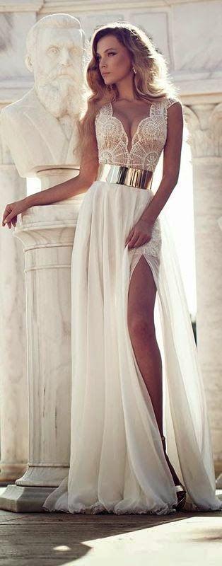 vestido abertura pierna - 12 Vestidos De Graduación Que Desearas Tener
