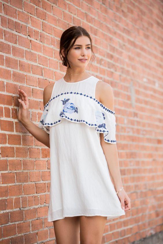 15 Vestidos Blancos Que Son Perfectos Para El Verano