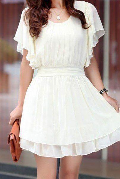 vestido blanco2 - 15 Vestidos Blancos Que Son Perfectos Para El Verano