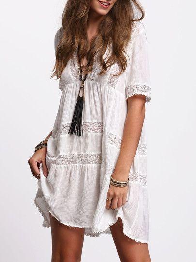 vestido blanco3 - 15 Vestidos Blancos Que Son Perfectos Para El Verano