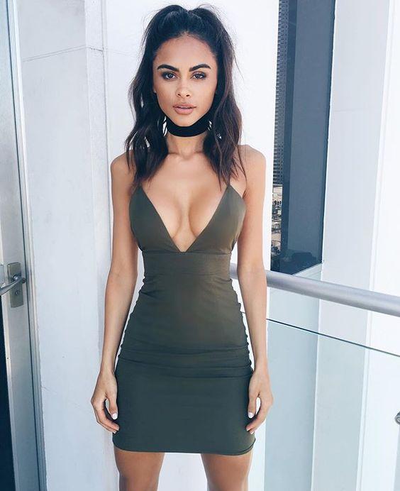 vestido corto4 - Vestidos Cortos Perfectos Para Irte De Antro