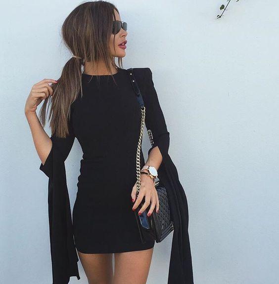 vestido corto5 - Vestidos Cortos Perfectos Para Irte De Antro
