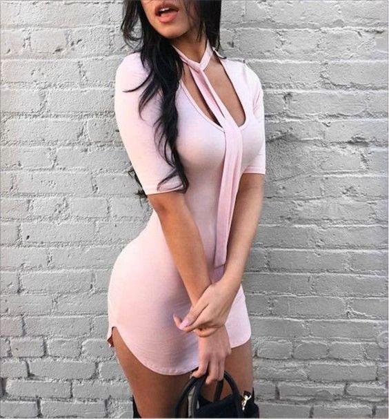 vestido corto6 - Vestidos Cortos Perfectos Para Irte De Antro