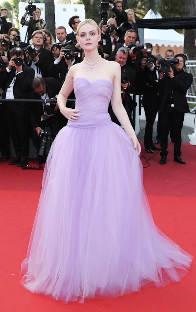 vestido lila copia - Los Vestidos Mas Hermosos De Cannes 2017