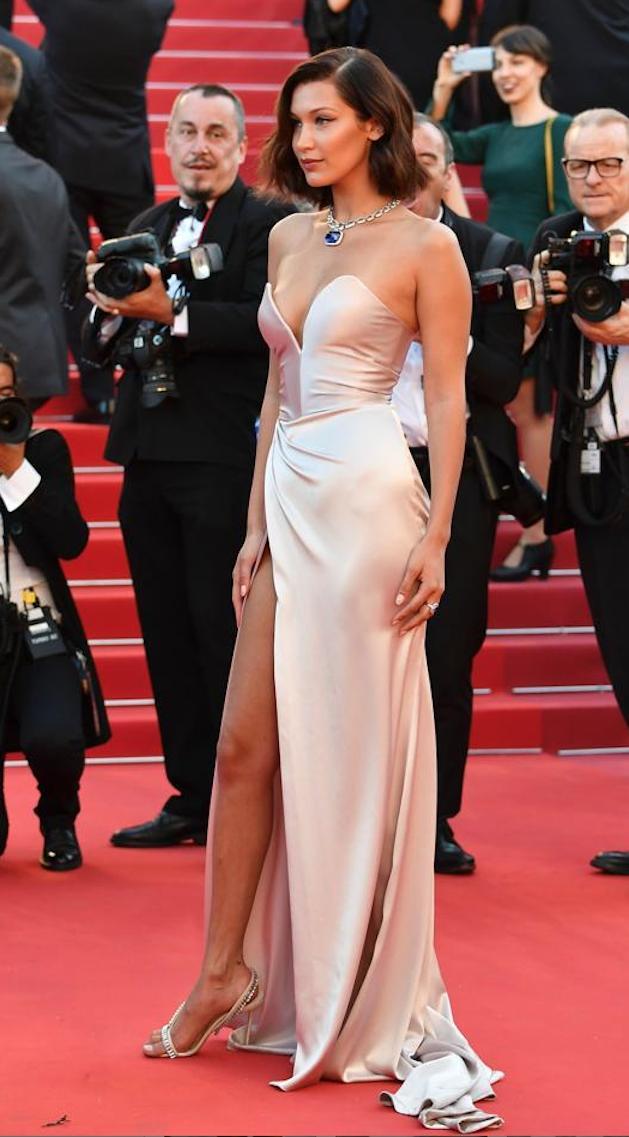vestido seda - Los Vestidos Mas Hermosos De Cannes 2017
