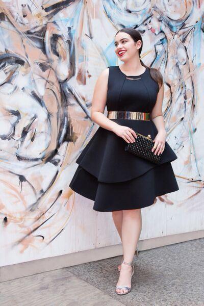 vestidos para gorditas5 - Vestidos Para Mujeres De Talla Grande