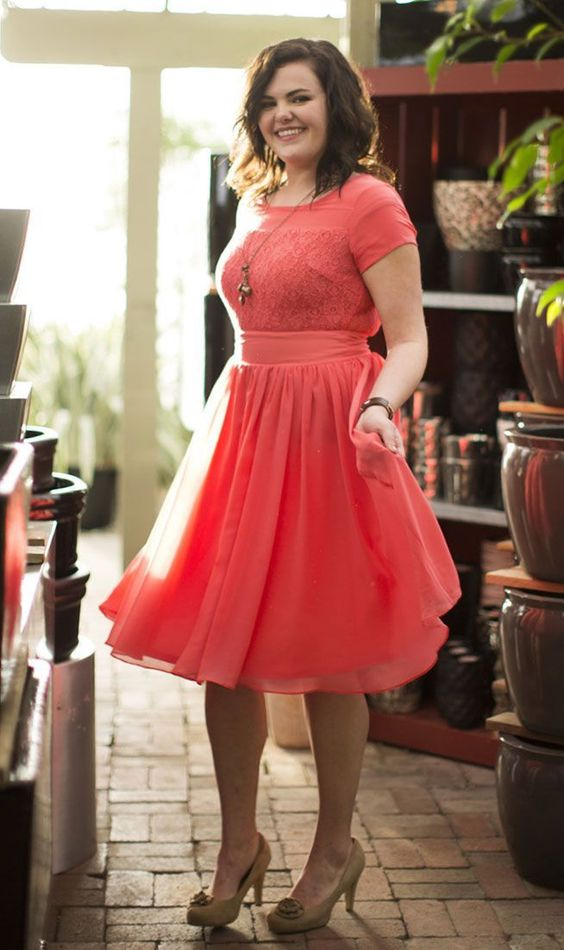 vestidos para gorditas6 - Vestidos Para Mujeres De Talla Grande