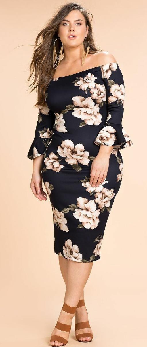 vestidos para gorditas7 - Vestidos Para Mujeres De Talla Grande