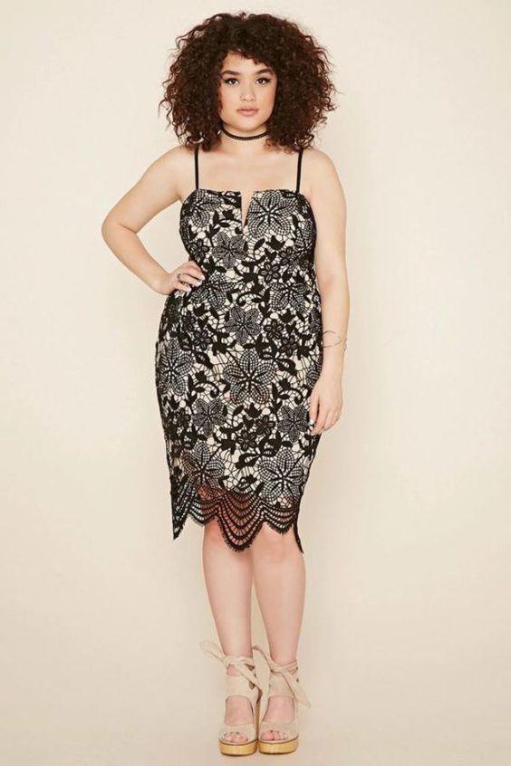 vestidos para gorditas8 - Vestidos Para Mujeres De Talla Grande