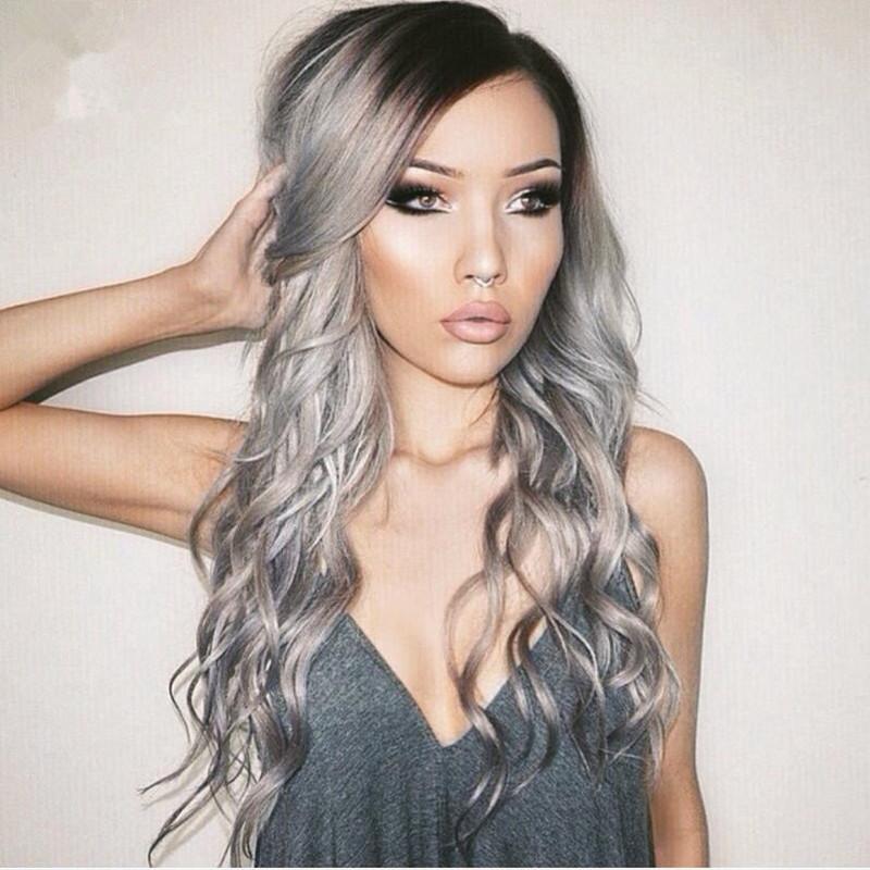 cabello gris5 - Fotos Que Te Convencerán Para Teñir Tu Cabello De Gris