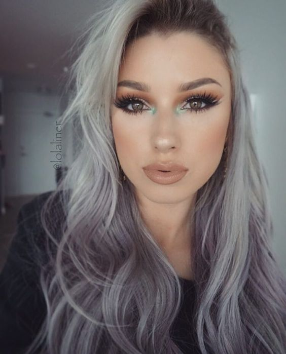 cabello gris6 - Fotos Que Te Convencerán Para Teñir Tu Cabello De Gris