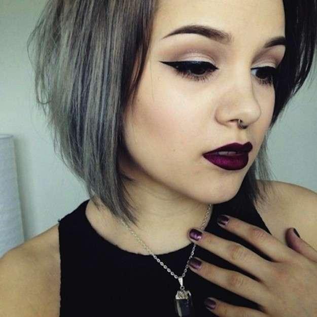 cabello gris7 - Fotos Que Te Convencerán Para Teñir Tu Cabello De Gris