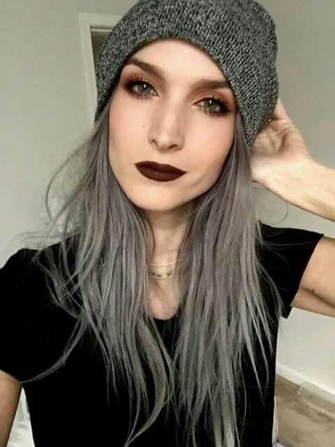 cabello gris8 - Fotos Que Te Convencerán Para Teñir Tu Cabello De Gris
