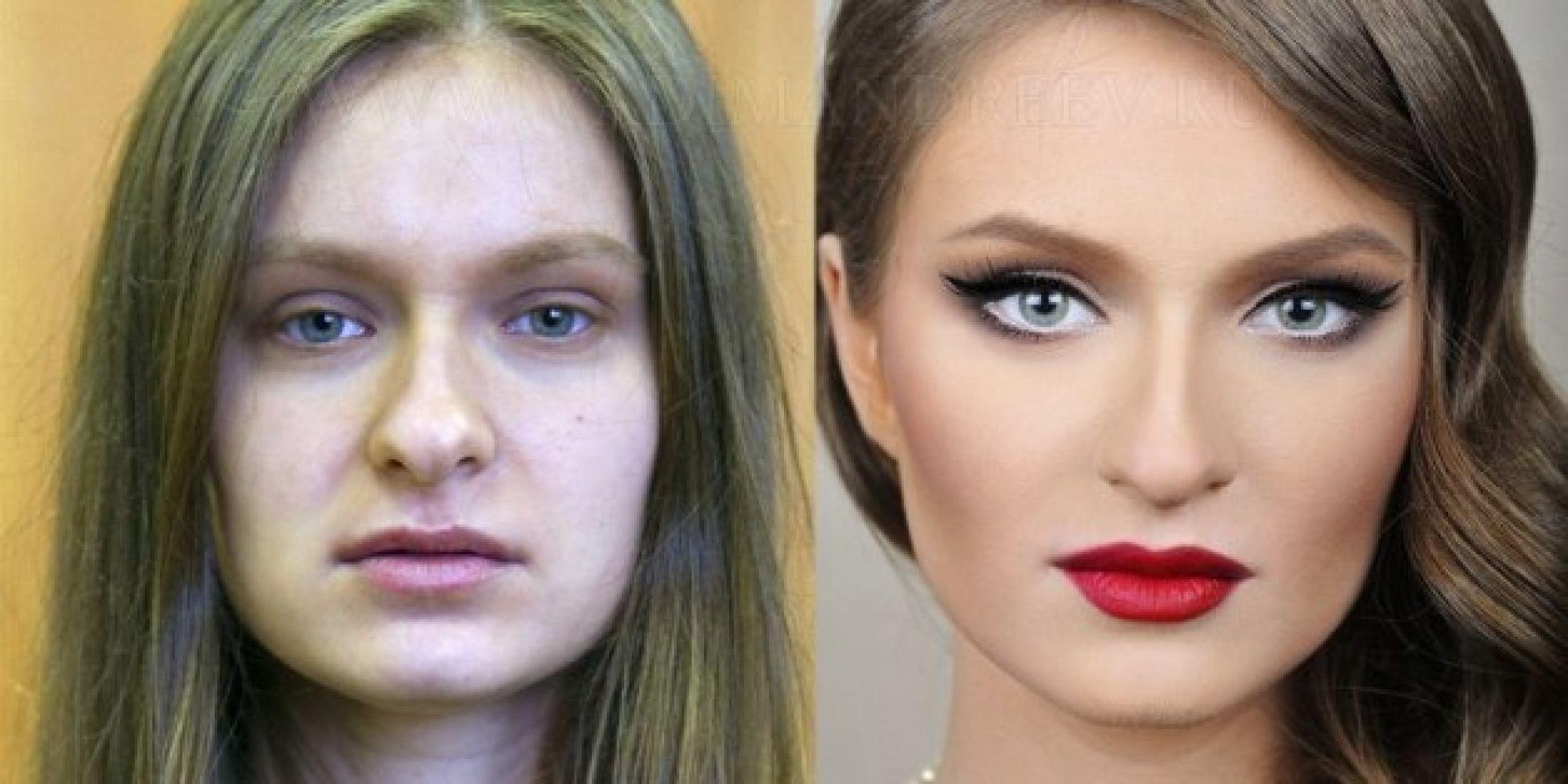 transformacion maquillaje3 - Pruebas De Que El Maquillaje Tiene Un Gran Poder