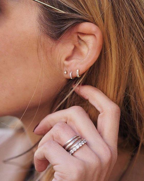 piercings - Perforaciones En La Oreja Que Se Ven Increíbles