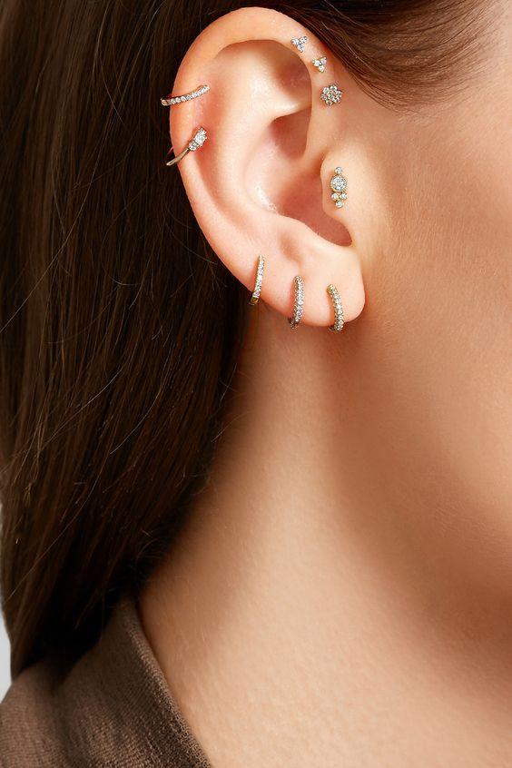 piercings8 - Perforaciones En La Oreja Que Se Ven Increíbles