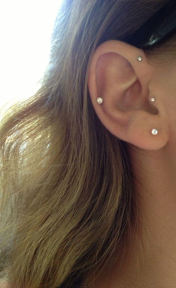 piercings9 - Perforaciones En La Oreja Que Se Ven Increíbles