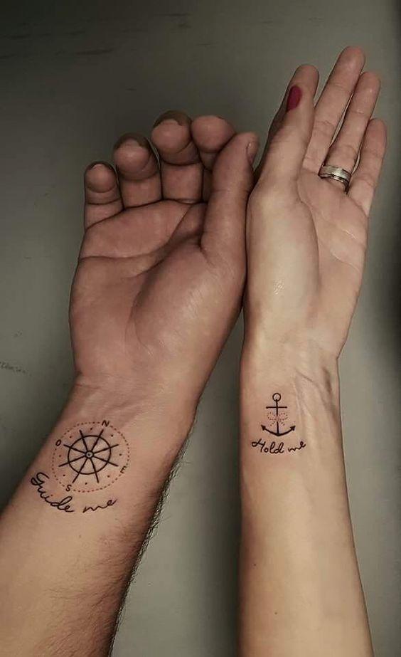 tatuajes parejas - Tatuajes Para Parejas Que Son Perfectos