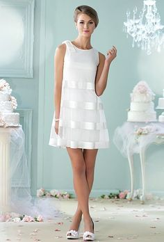 vestido novia corto12 - Vestidos De Novia Cortos Que Te Encantaran