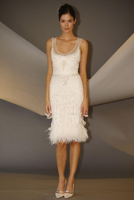 vestido novia corto7 - Vestidos De Novia Cortos Que Te Encantaran