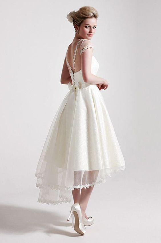 Vestidos de novia comodos para bailar