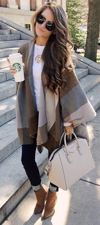 outfits invierno1 - Outfits Para Invierno Que Te Harán Lucir Siempre Bella